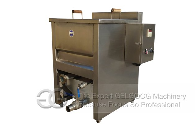 Small Manual Model Water-Oil Mix Fryer Machine