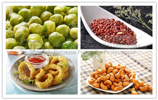Automatic Peanut Fryer Machine|Cashew Nuts Frying Machine|Onion Rings Frying Machine