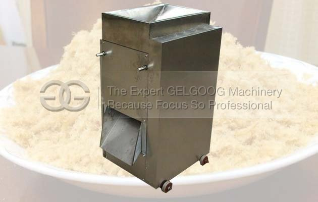 cooked meat wire drawing machine