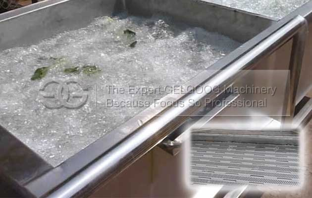 commercial bubble type fruit vegetable washing machine