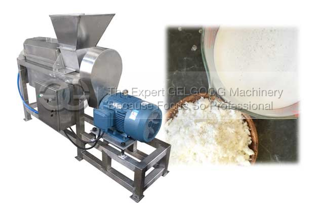 Double Helix Coconut Juicer Extractor Machine