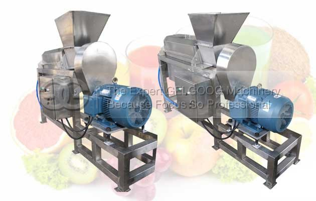 Commercial Electric Juice Extractor Machine with Double Screw For Sale