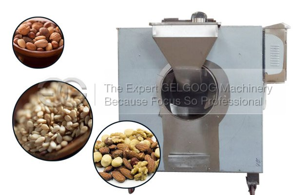 automatic sesame seeds roasting machine with electric and gas heating way china manufacturer