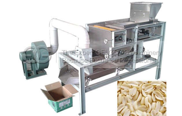peanut half cutting  machine with low price