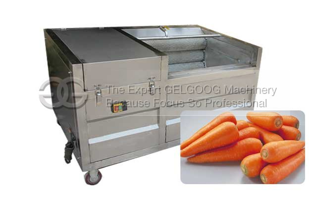 fruit vegetable washing machine for carrot for sale in china