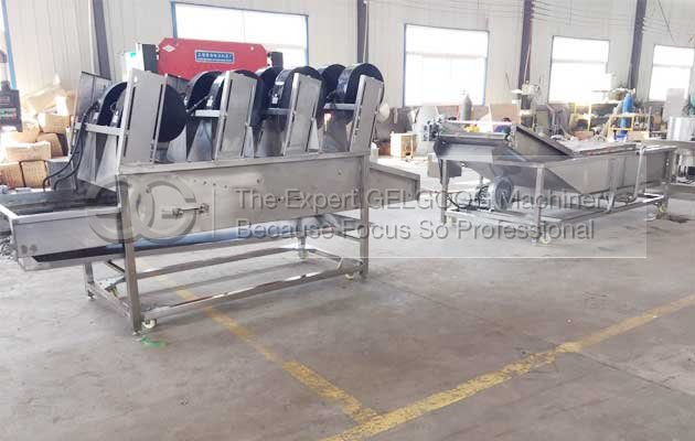 fruit vegetable washing and drying machine