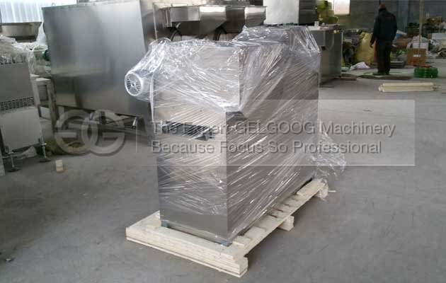 nut strip cutting machine shipped to america
