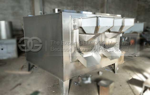 commercial seeds roasting machine packed to Saudi Arabia.