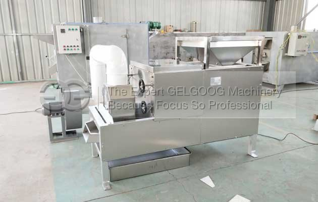 cocoa bean peeler machine with best price in china manufacturer