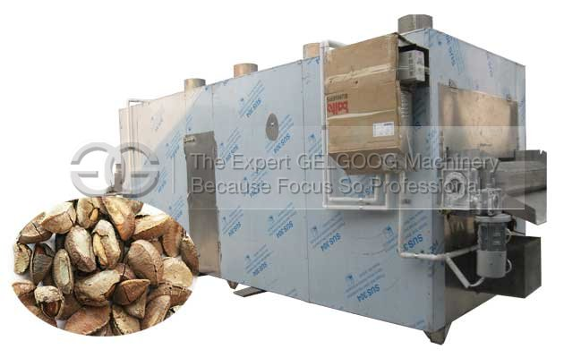 belt type nut roasting machine