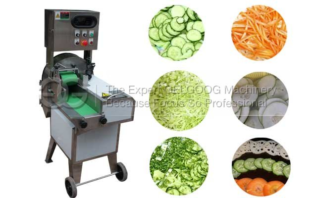 Commerical Vegetable Cutting Machine for Restaurant With Double Frequency Conversion