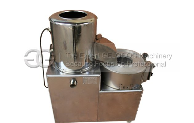 potato washing peeling and cutting machine for french fries