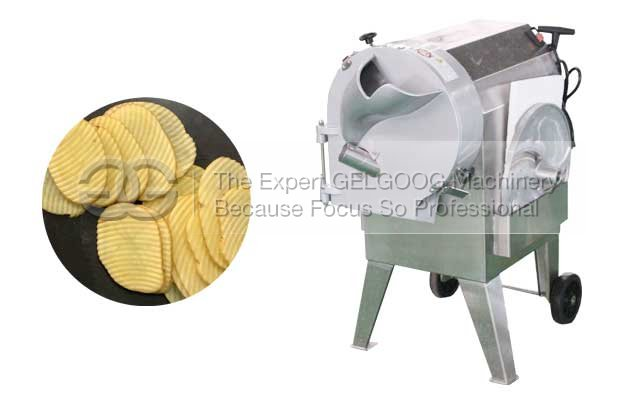 corrugated potato chipsw cutting machine with low price