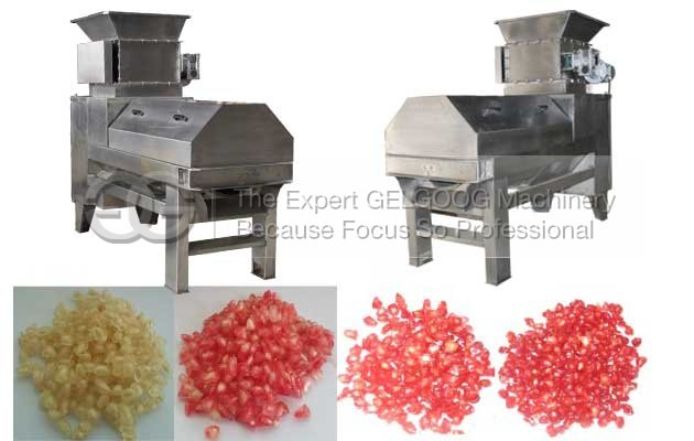 industrial pomegranate aril seperator machine