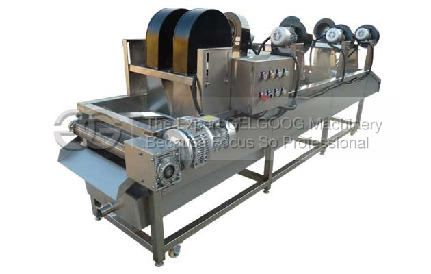 soft package air drying machine