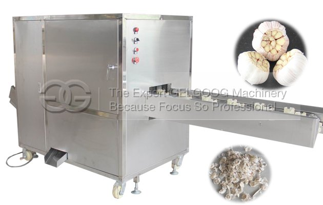 Commerical Garlic Root Cutting Machine (Concave Cutting Model)