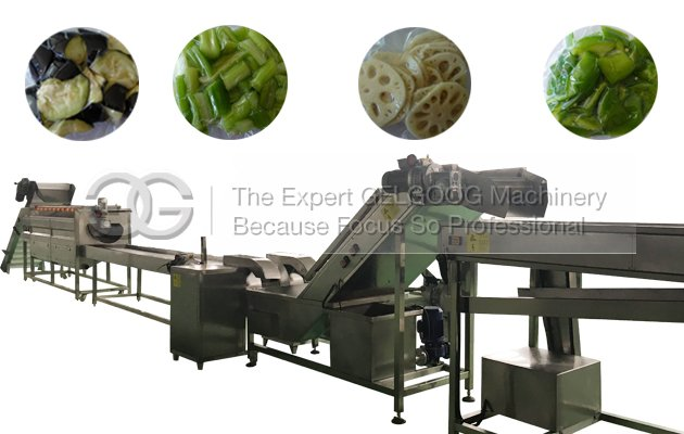 Salad Process Machine Salad Cutting and Washing Processing Line