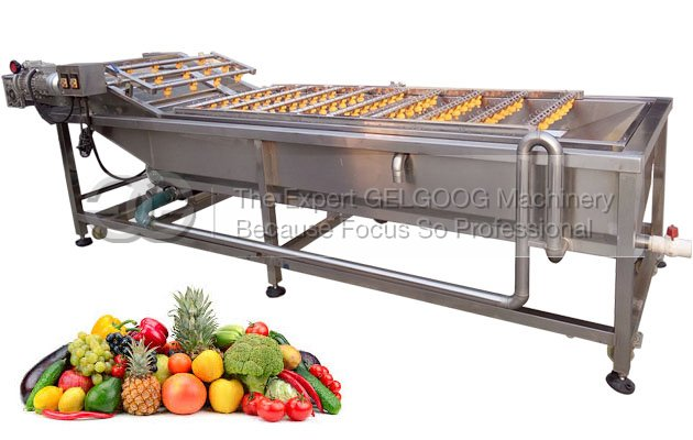 Industrial Fruit and Vegetable Washing Machine For Apple,Spinach