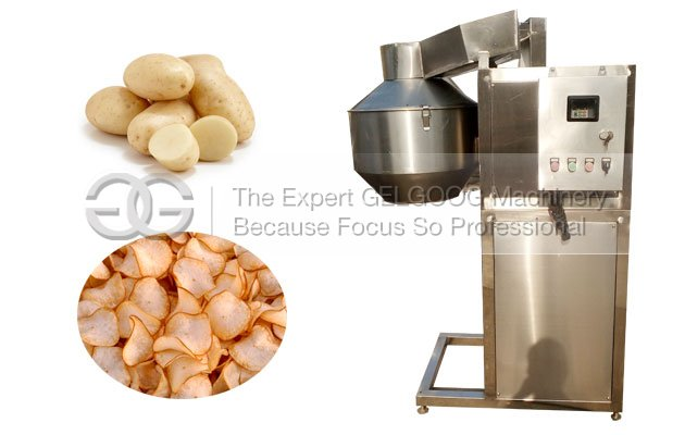 High Efficiency Potato Chips Cutting Machine For Sale Manufacturer