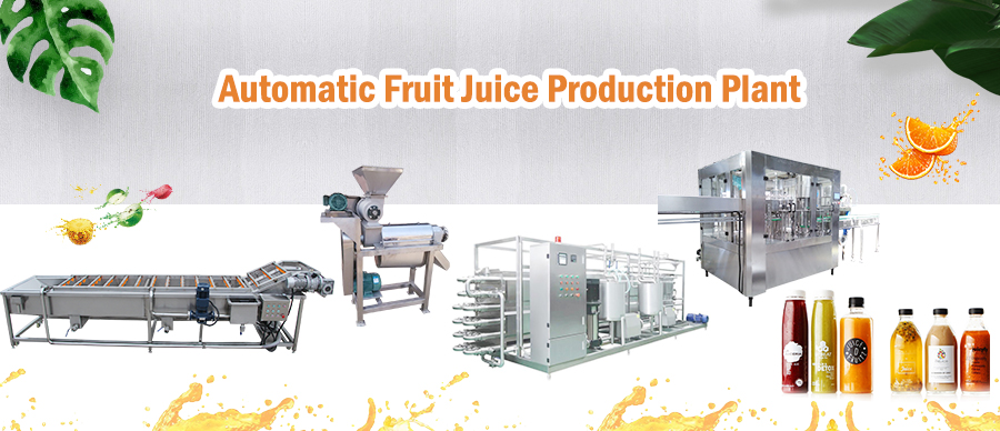 Automatic Fruit Juice Plant