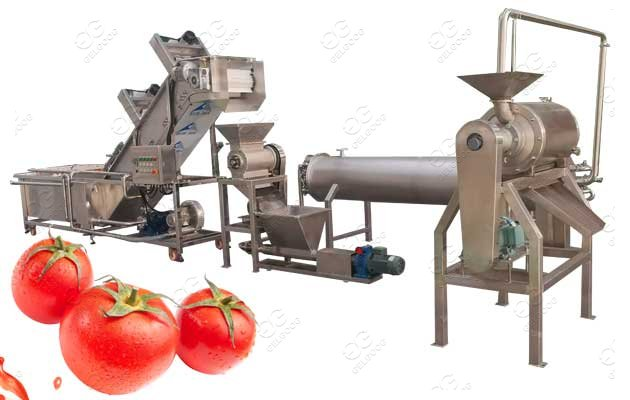 Automatic Tomato Paste Producti