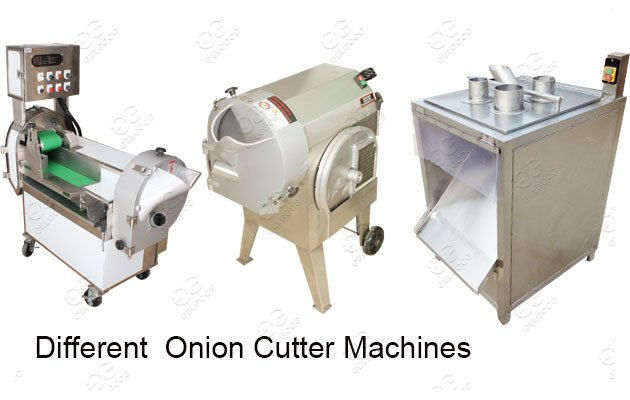 Industrial Onion Cutting Machin