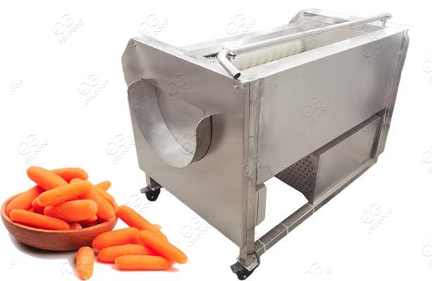 Carrot Potato Washing and Peeling Machine Hot Sale