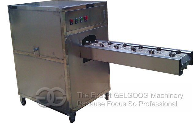 Garlic Concave Root Cutting Machine