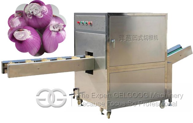 Onion Root Cutting Machine