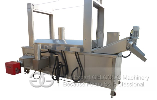 Electric Heating Continuous Fryer Machine