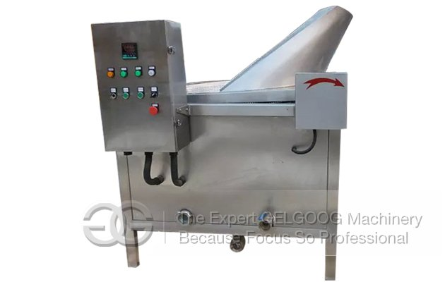 Automatic Stirring Oil-Water Type Chicken Fryer Machine