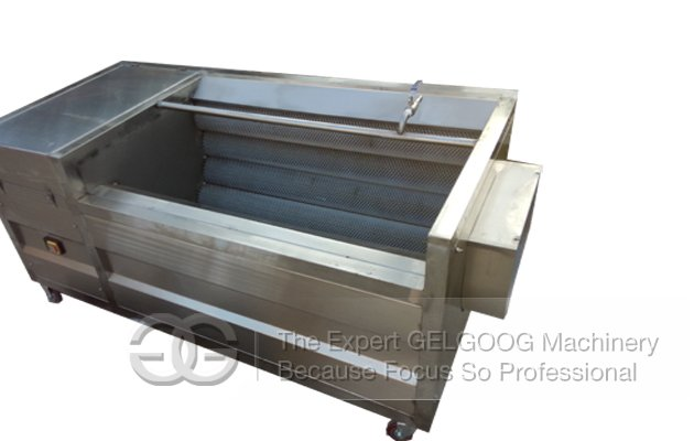washing and peeling machine for potato