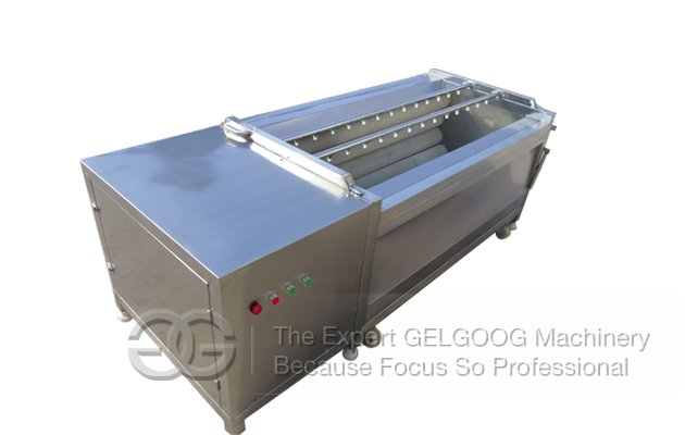 washing and peeling machine for carrot