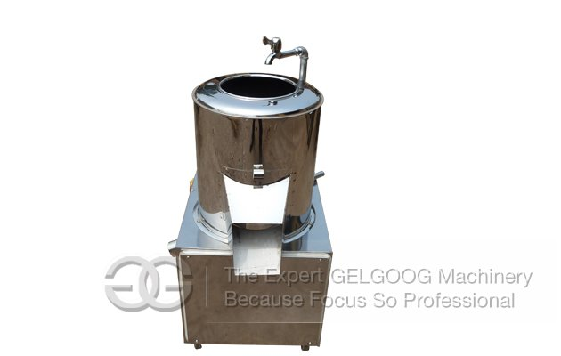 Small Type Potato Washing and Peeling Machine