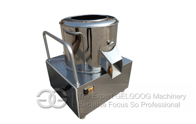 small capacity Potato Washing and Peeling Machine