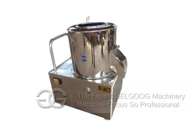potato washer and peeler machine
