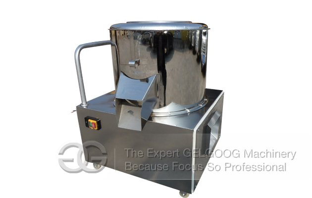 Potato Cleaning and Peeling Machine