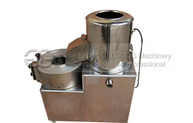 Big Capacity Potato Washing and Cutting Machine