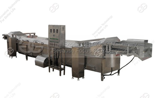 Larger Model Vegetable Blanching Machine