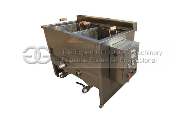 Double Tanks Vegetable Blanching Machine