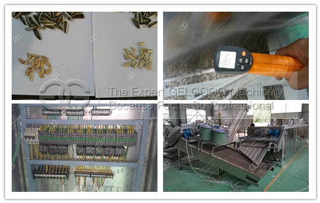 sunflower seeds frying machine for sale