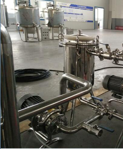 Pasteurized milk machine line for sale