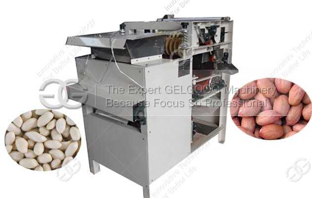 peanut skin peeling machine with water