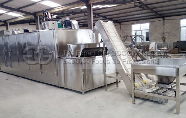 multifunction nuts roasting machine