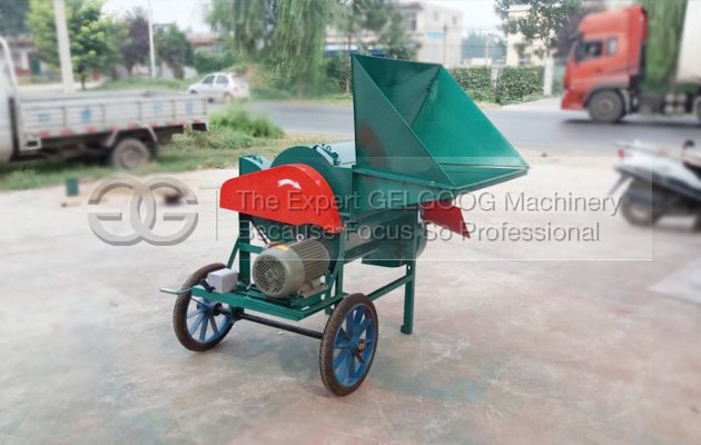onion threshing machine