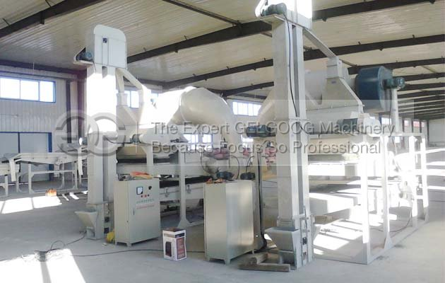 sunflower seeds sheeling machine