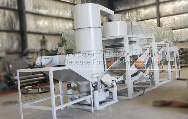 melon seeds dehulling machine