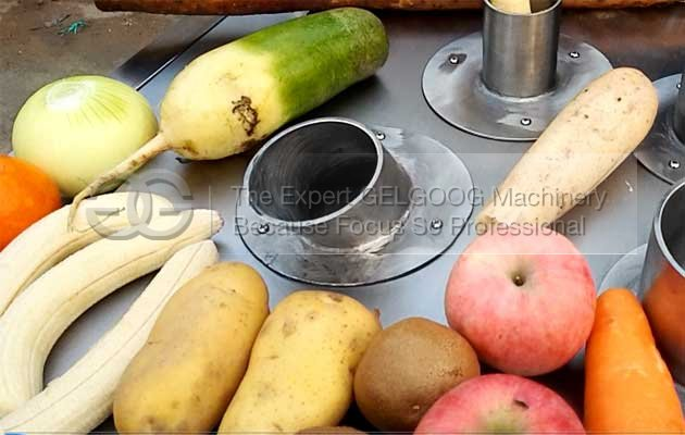 fruit vegtable slicing machine