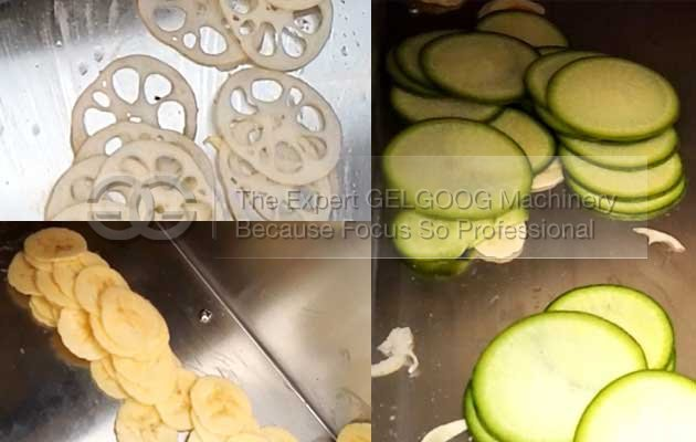 vegetable slicing equipment