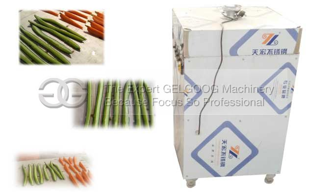 radish wedge cutting machine